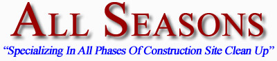 New Jersey Subdivision Maintenance Contractors and Construction Site Clean Up Professionals
